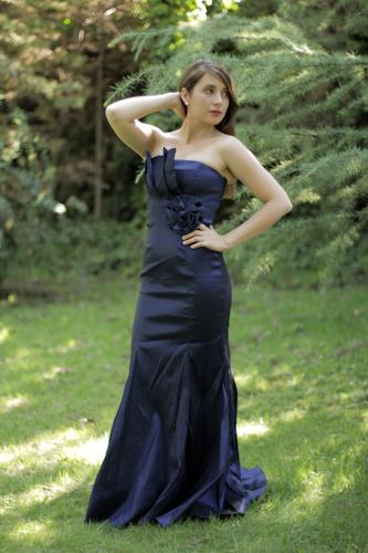 Sirena Detalle Strapless