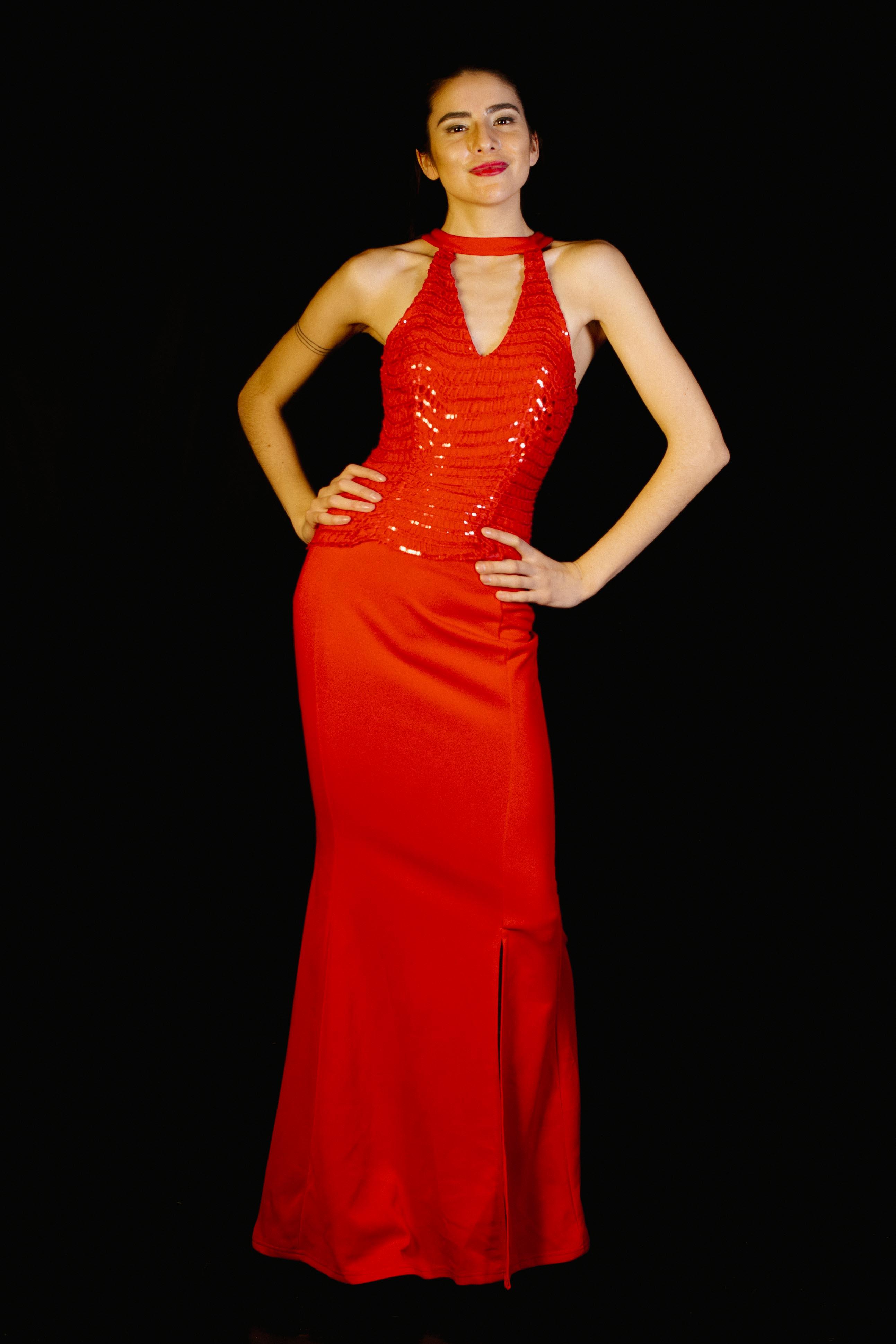 Vestido Corset Lentejuelas