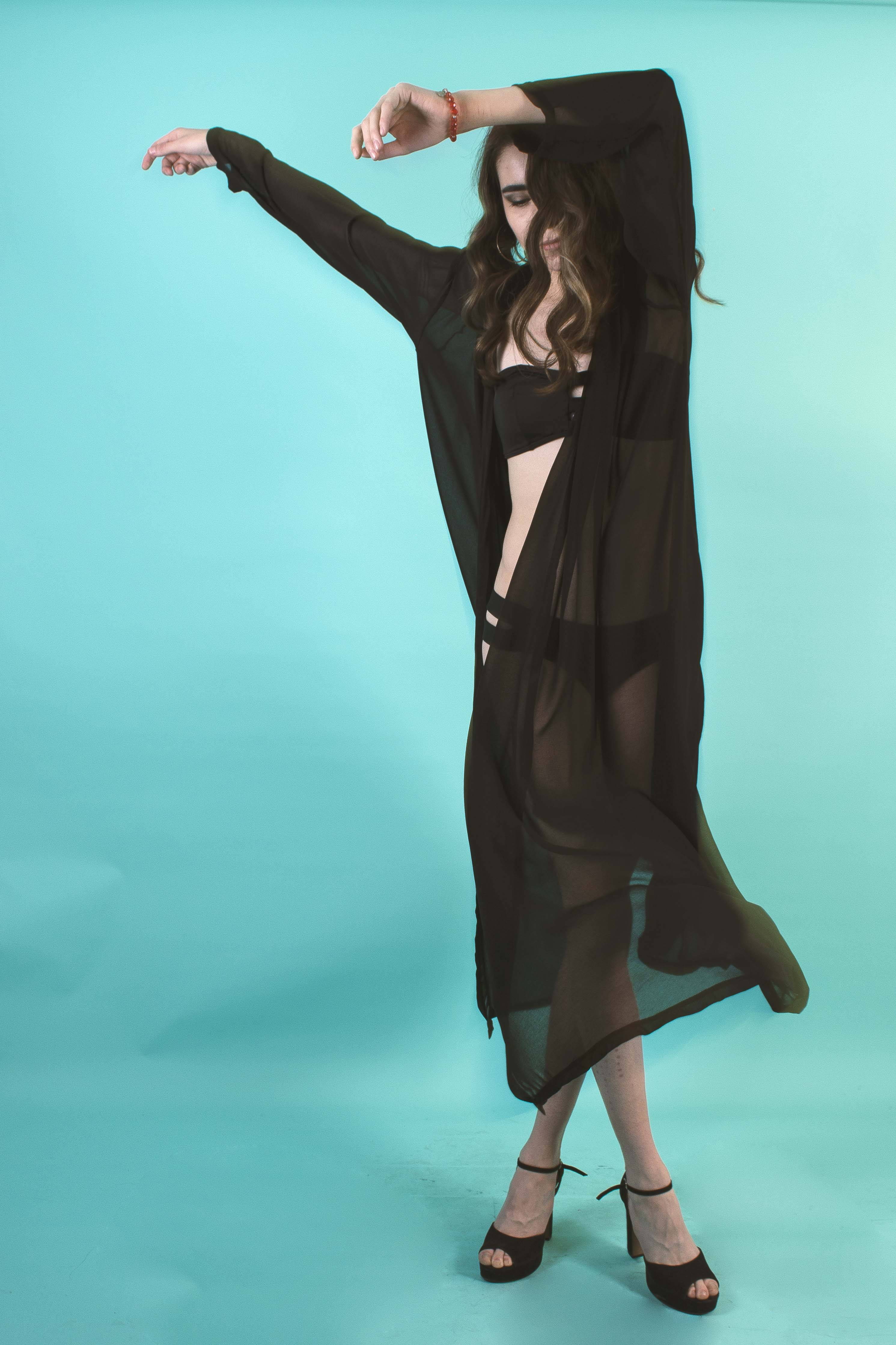 Capa Bikini Elegante Transparencia