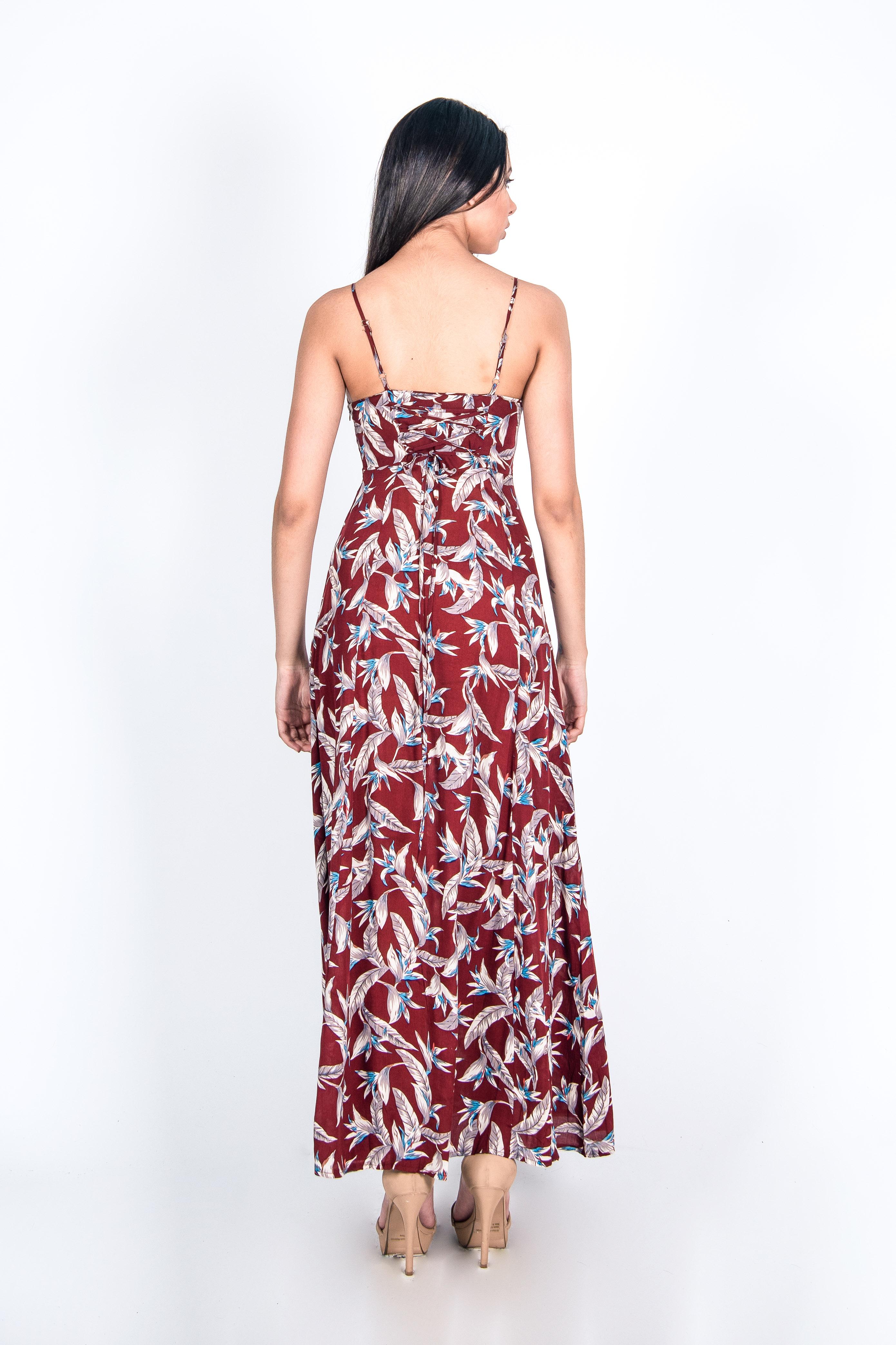 Vestido Pabilo Print