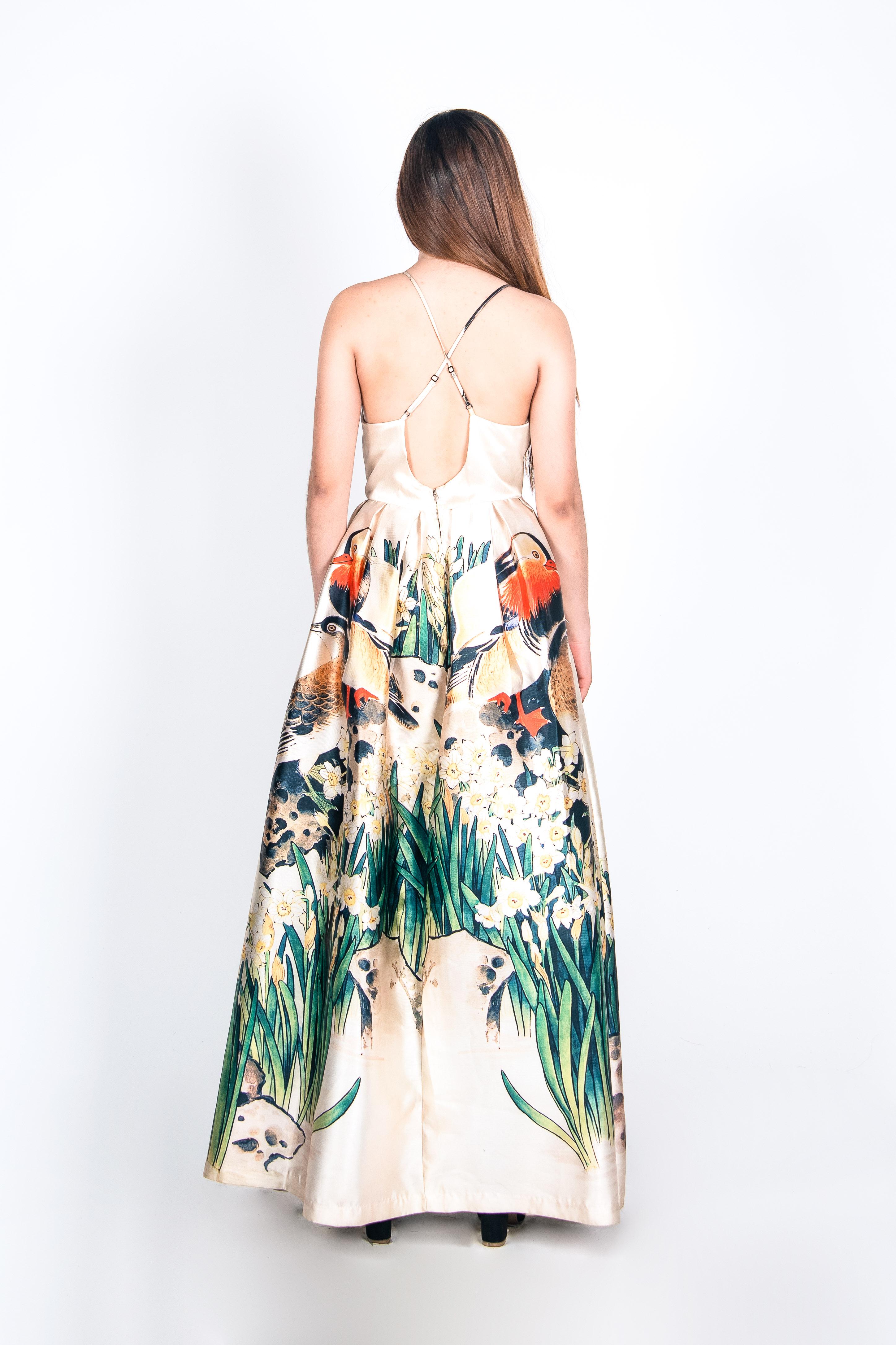 Vestido Aves