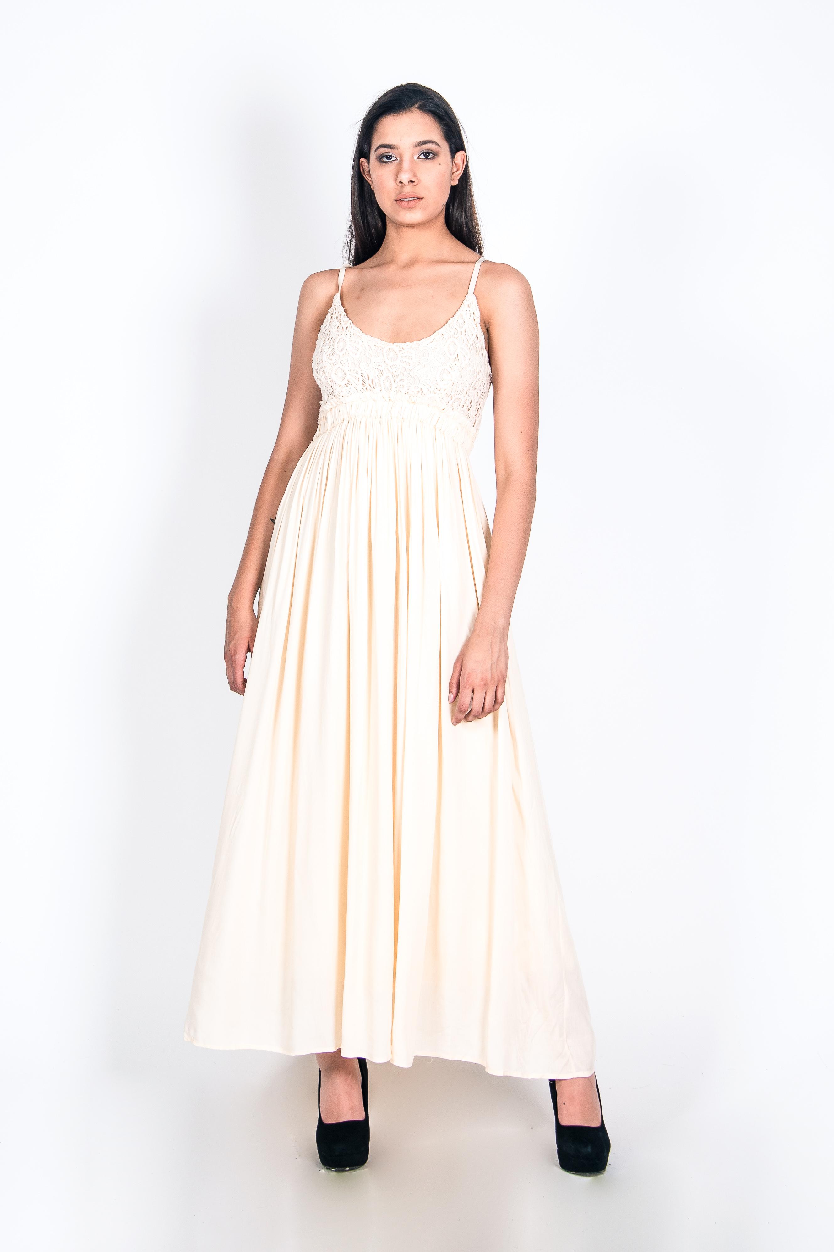 Vestido Roma Bordado