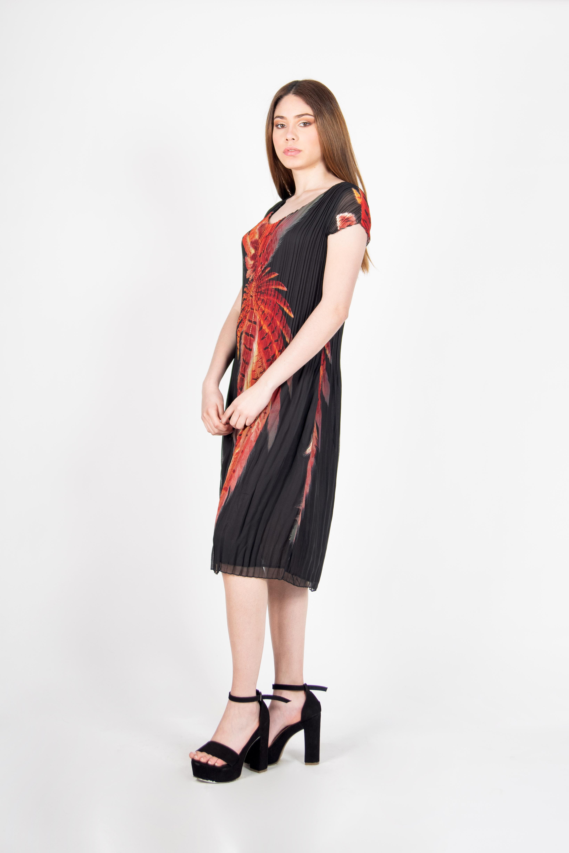 Vestido Plisado Señora