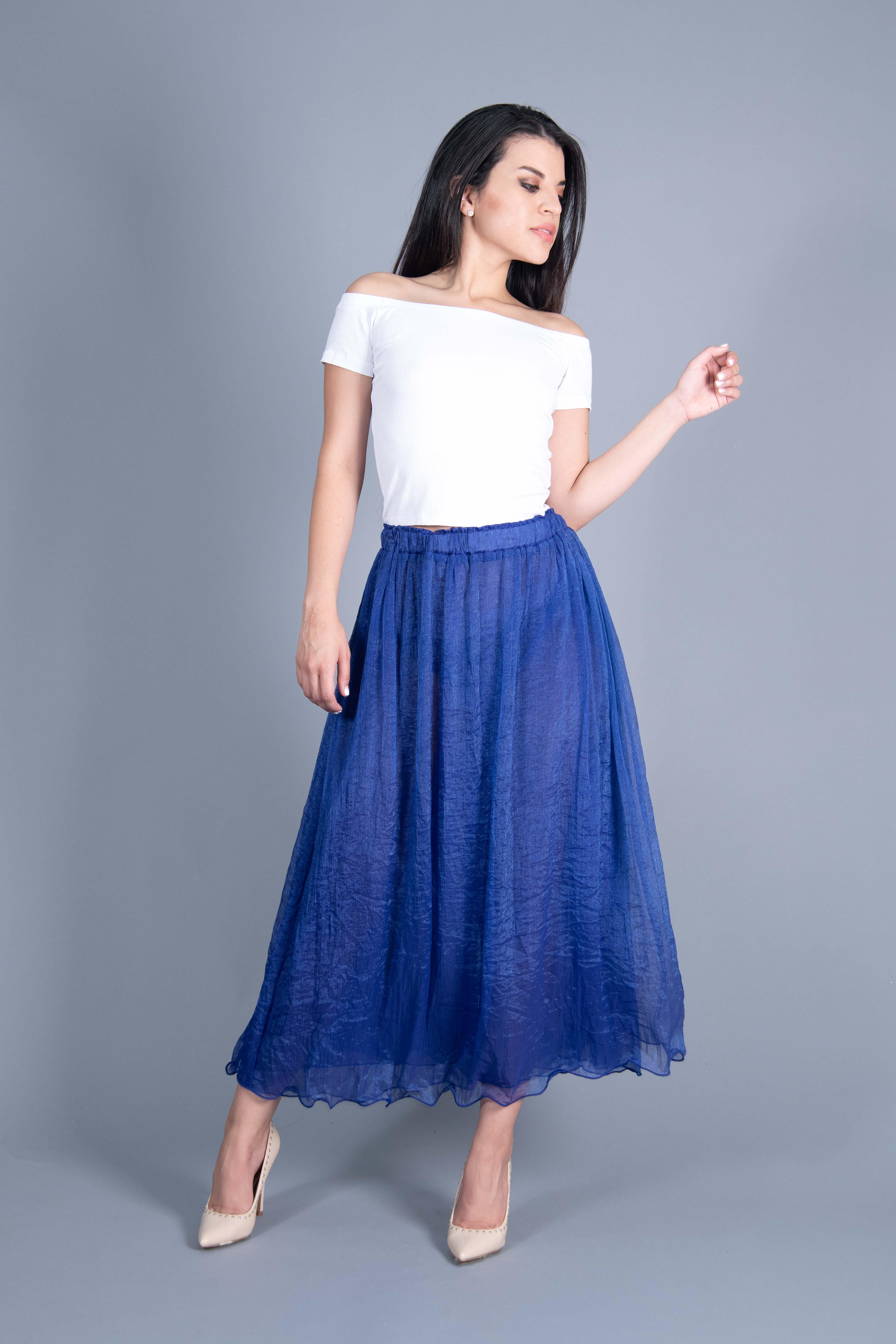 Falda Pantalón Translúcido