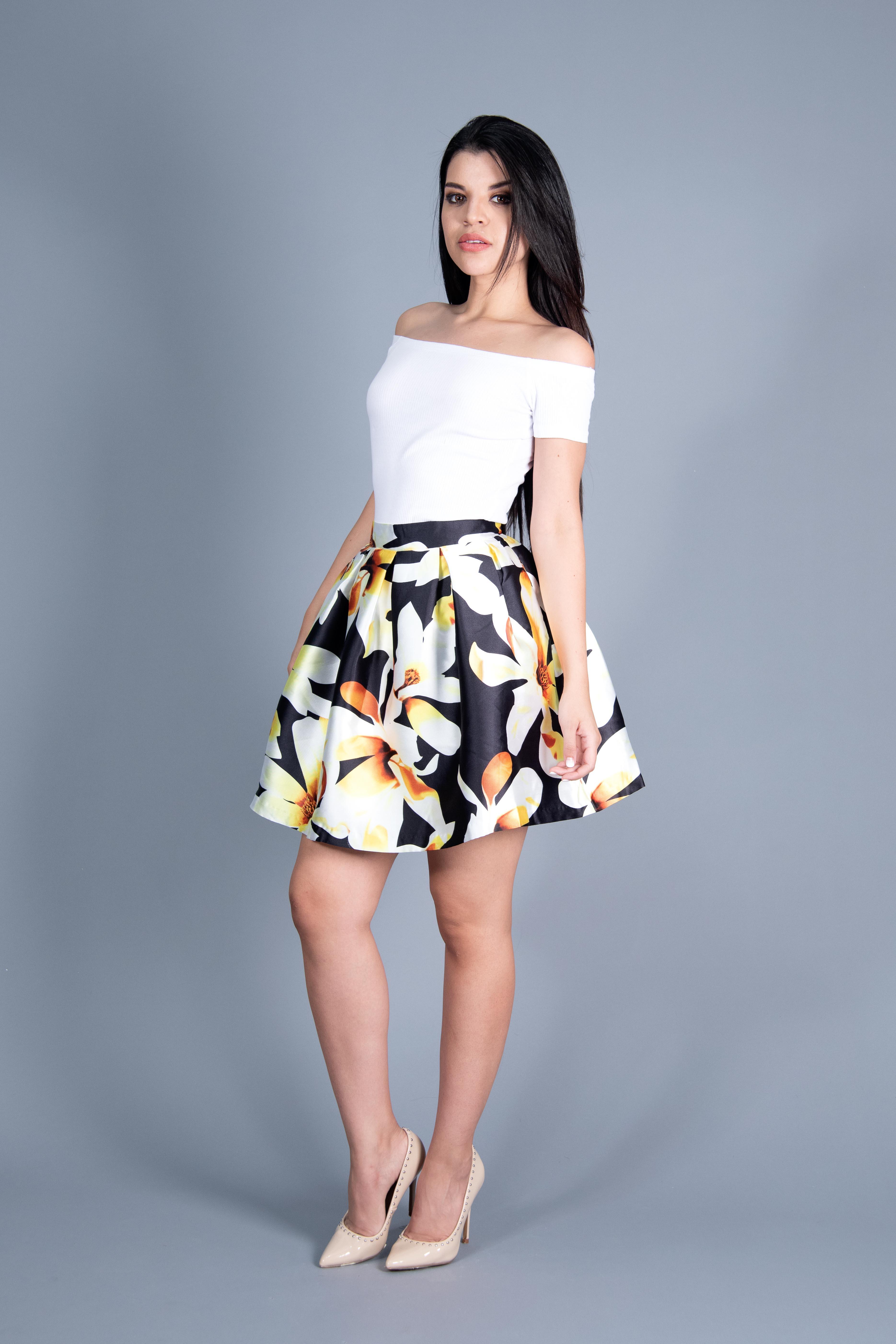 Short Fancy Skirt