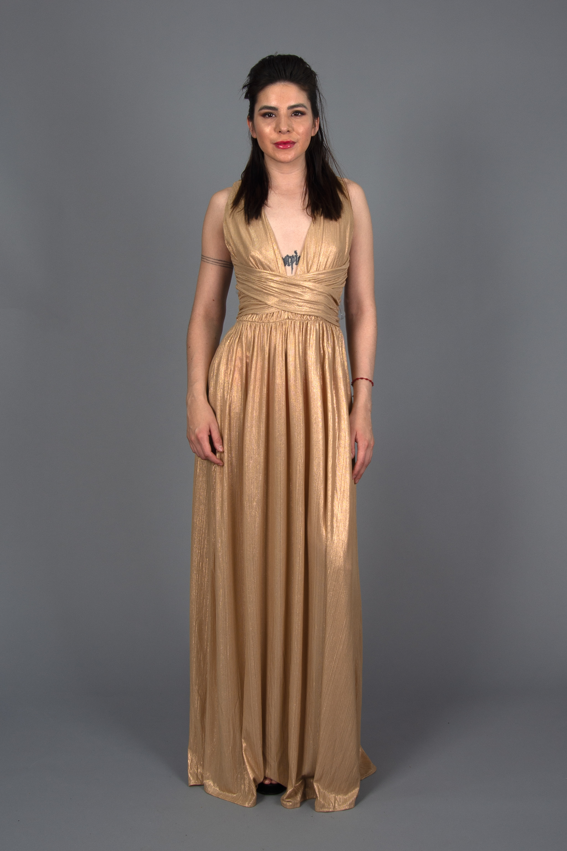 Vestido Roma Espalda Cruzada