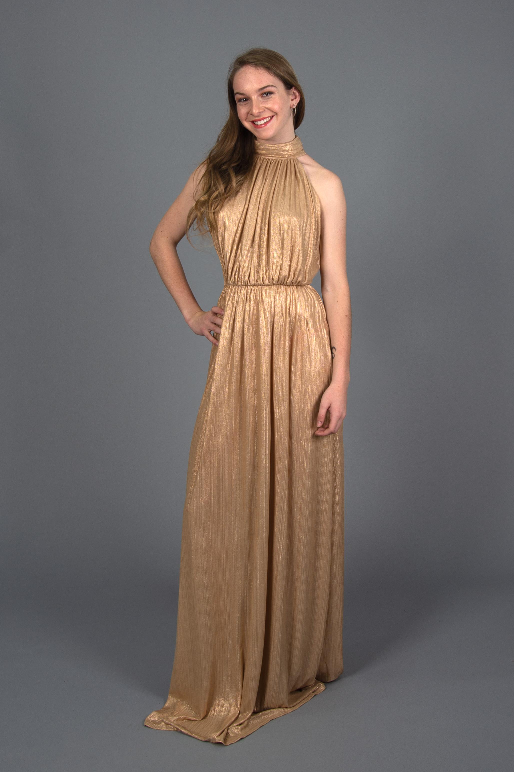 Vestido Roma Cuello Alto