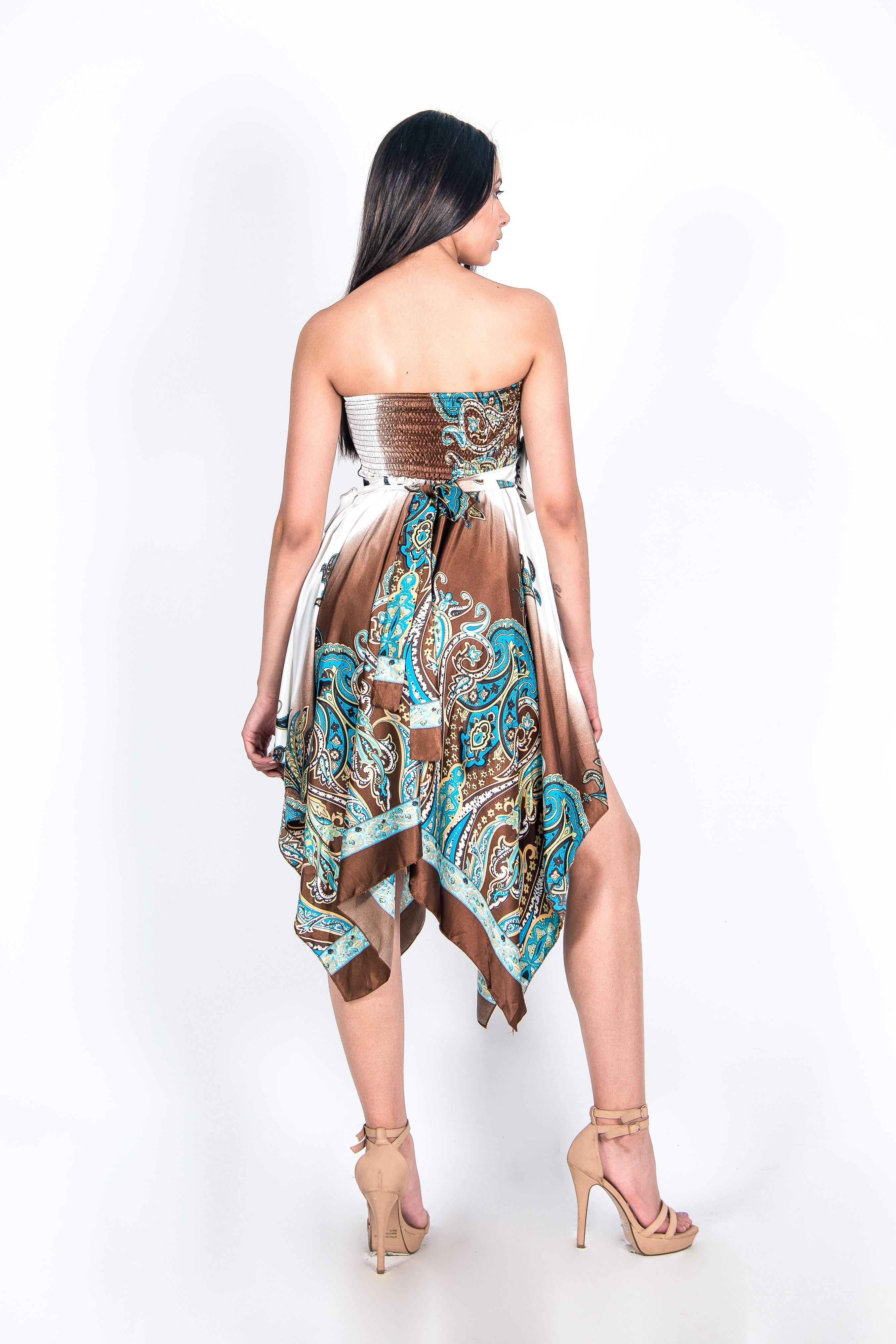 Vestido Puntas