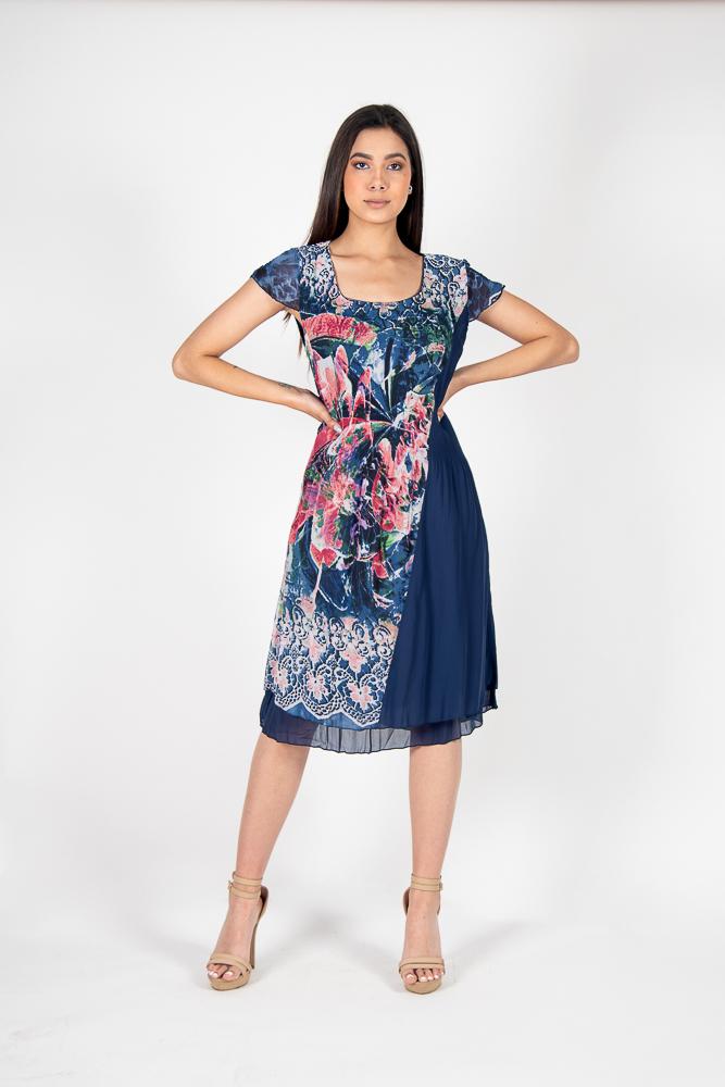 Vestido Señora Flores