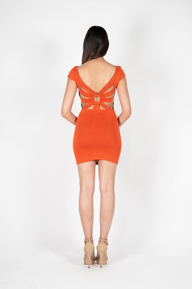Mini Vestido Detalle Espalda