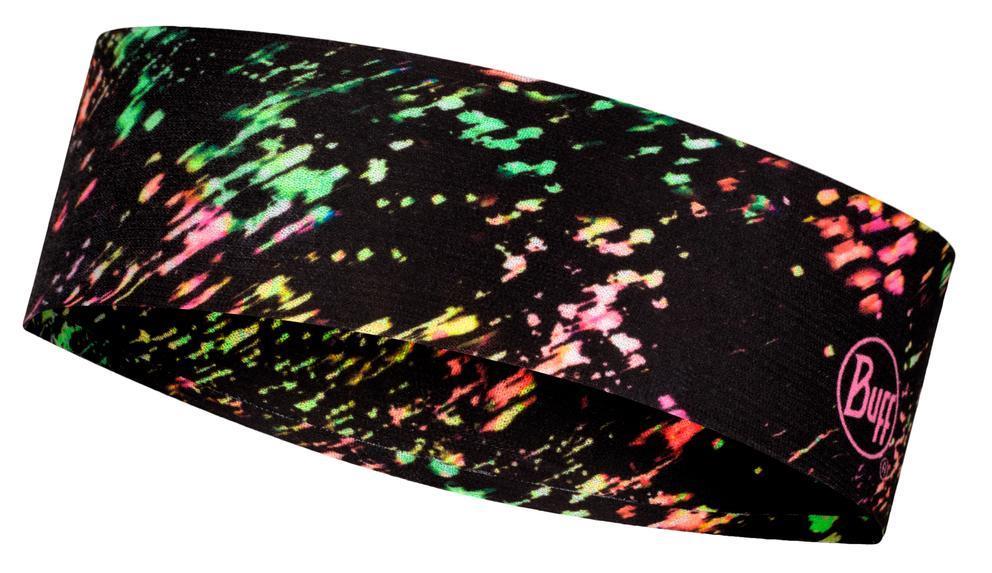 Cintillo BUFF Coolnet Uv® Slim Headband Speckle Black