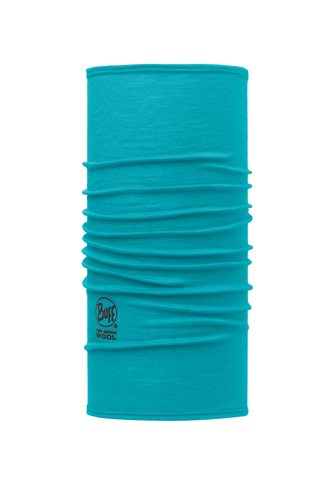 Slim Fit Merino Wool Solid Blue Capri