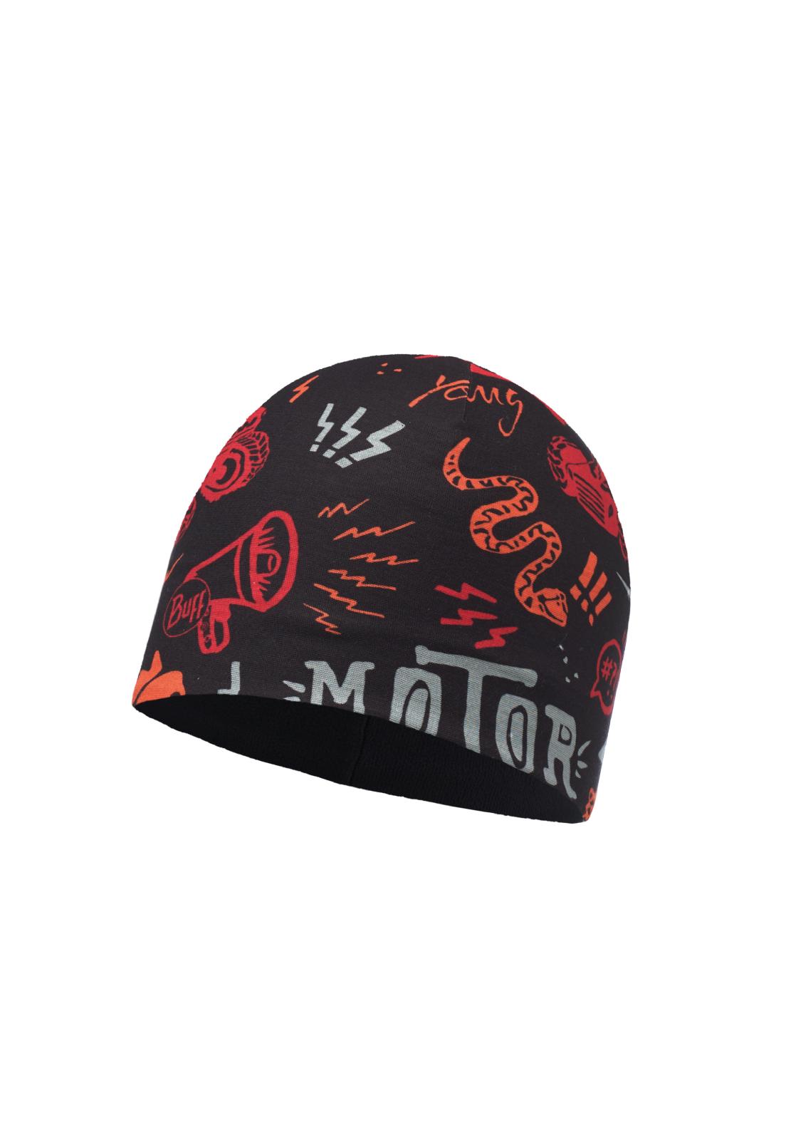 Microfiber & Polar Hat Junior Rebel Black / Black
