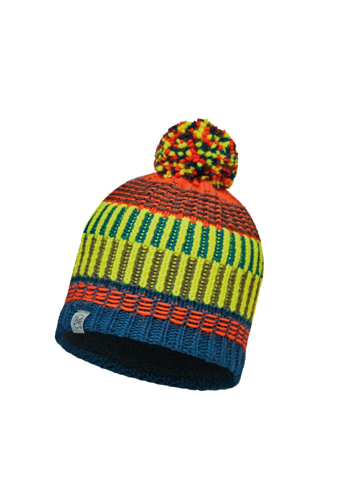 Junior Knitted & Polar Hat Hops Seaport Blue Primaloft®