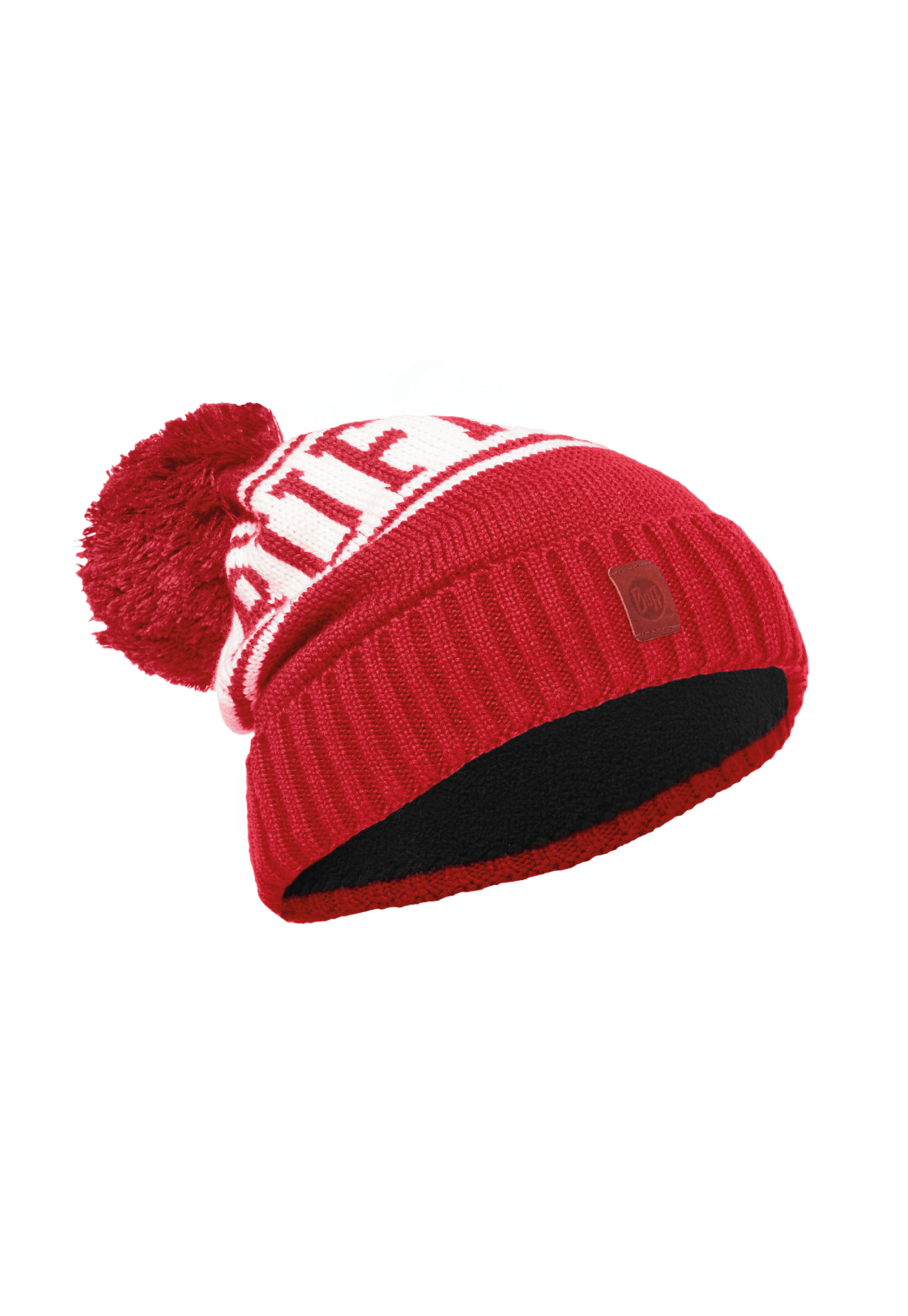 Junior Knitted & Polar Hat Shiko Red