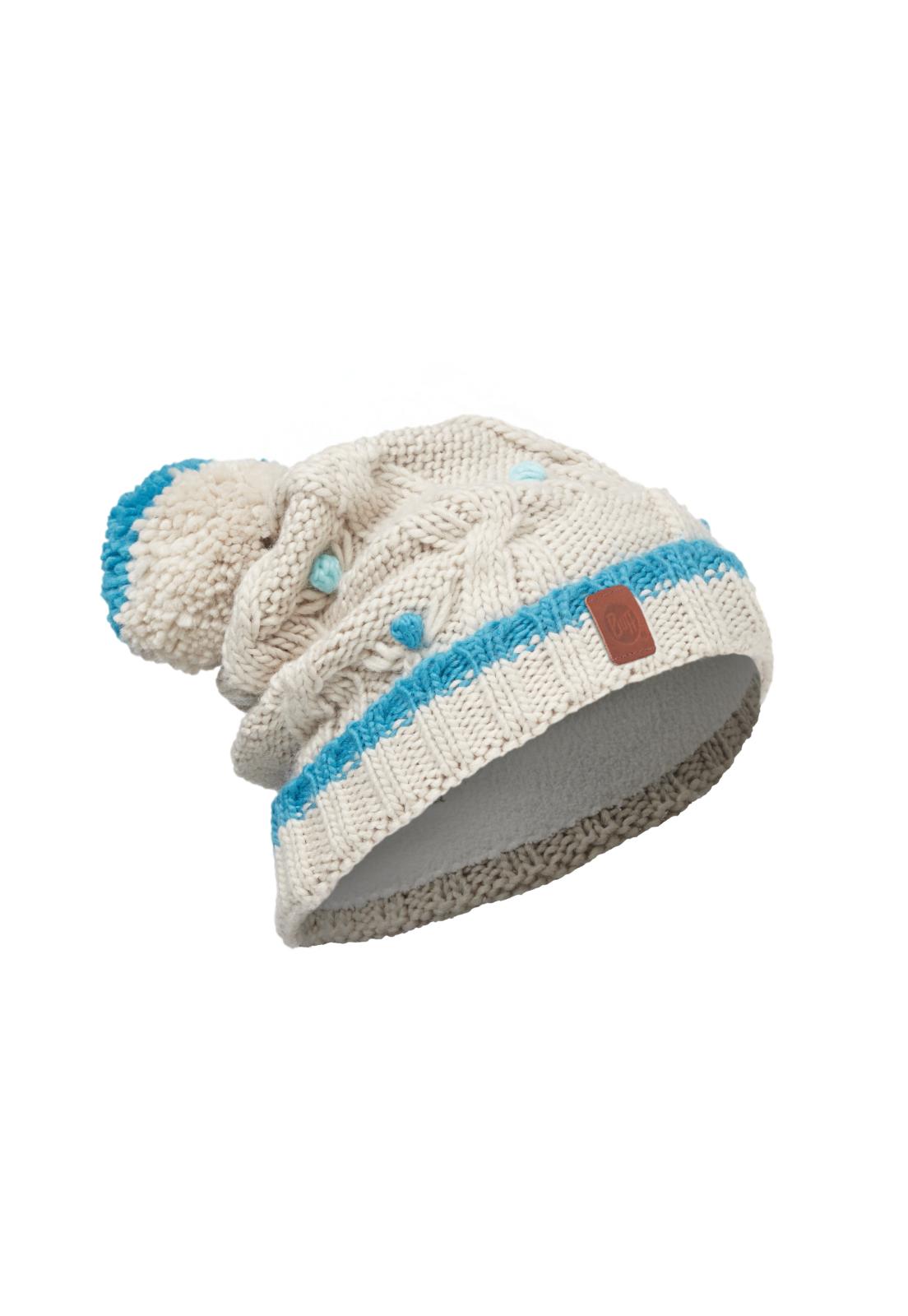 Junior Knitted & Polar Hat Dysha Mineral Primaloft