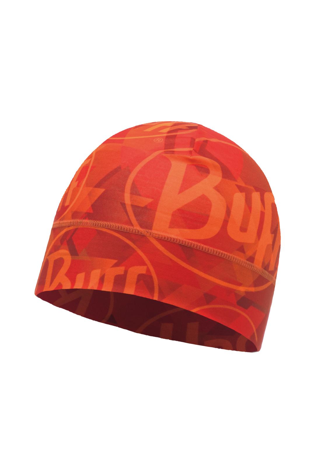 Microfiber 1 Layer Hat Tip Logo Orange Fluor