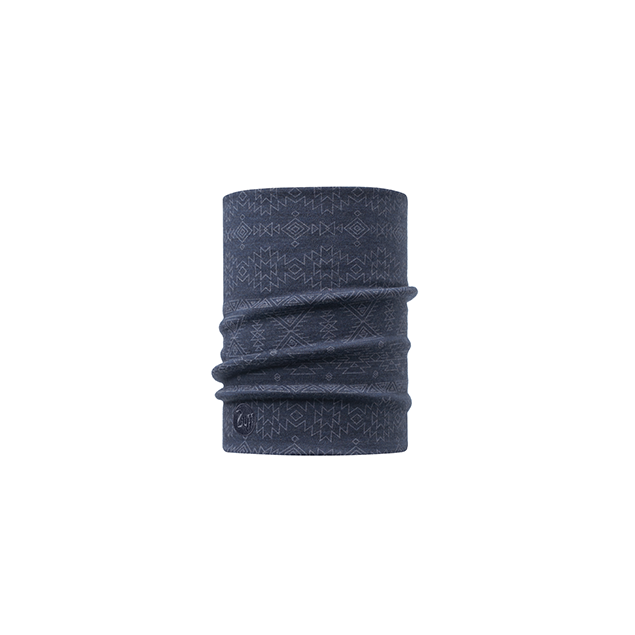 Heavyweight Merino Wool Neckwarmer Edgy Denim