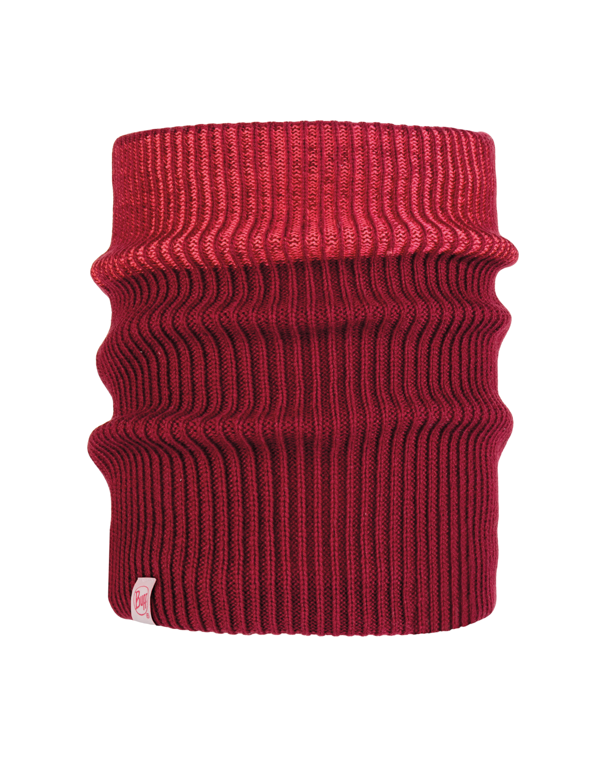 Knitted & Polar Neckwarmer Audny Wine