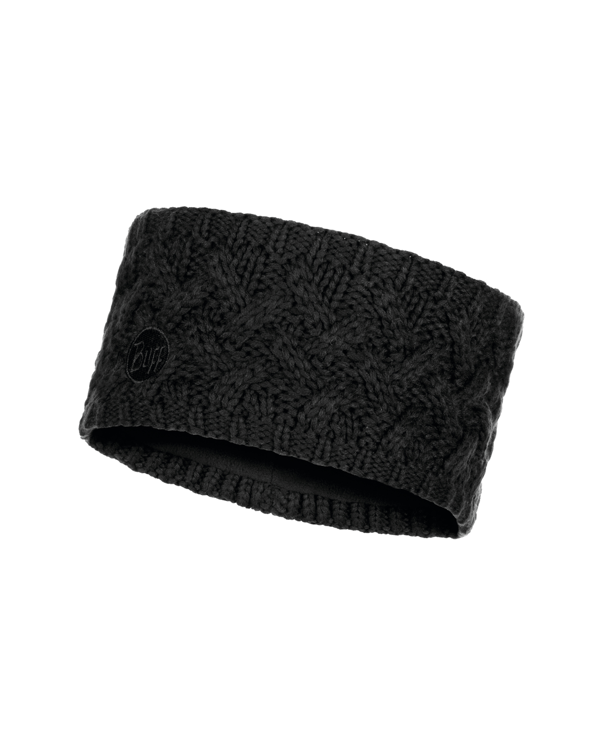 Knitted & Polar Headband Savva Black