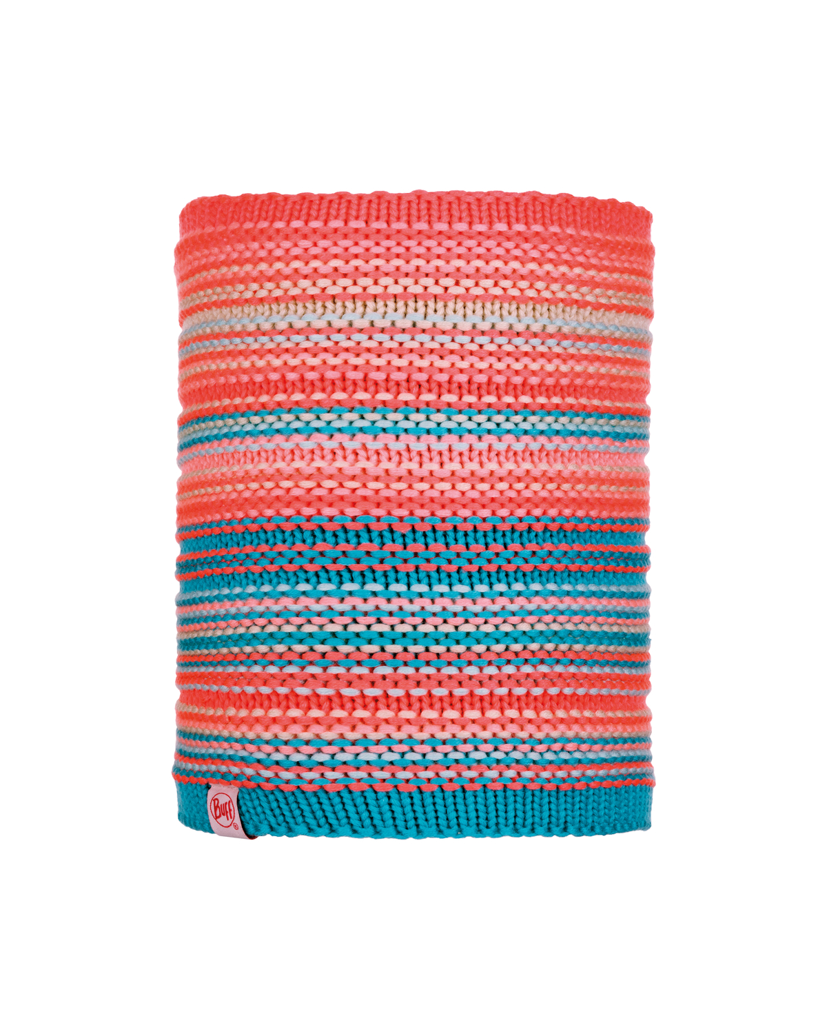 Knitted & Polar Neckwarmer Amity Coral Pink Jr