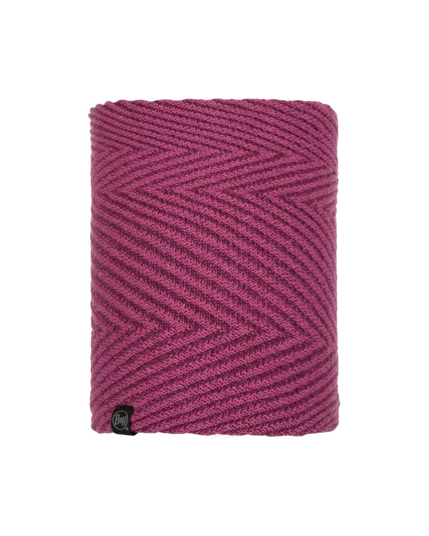 Knitted & Polar Neckwarmer Silja Purple