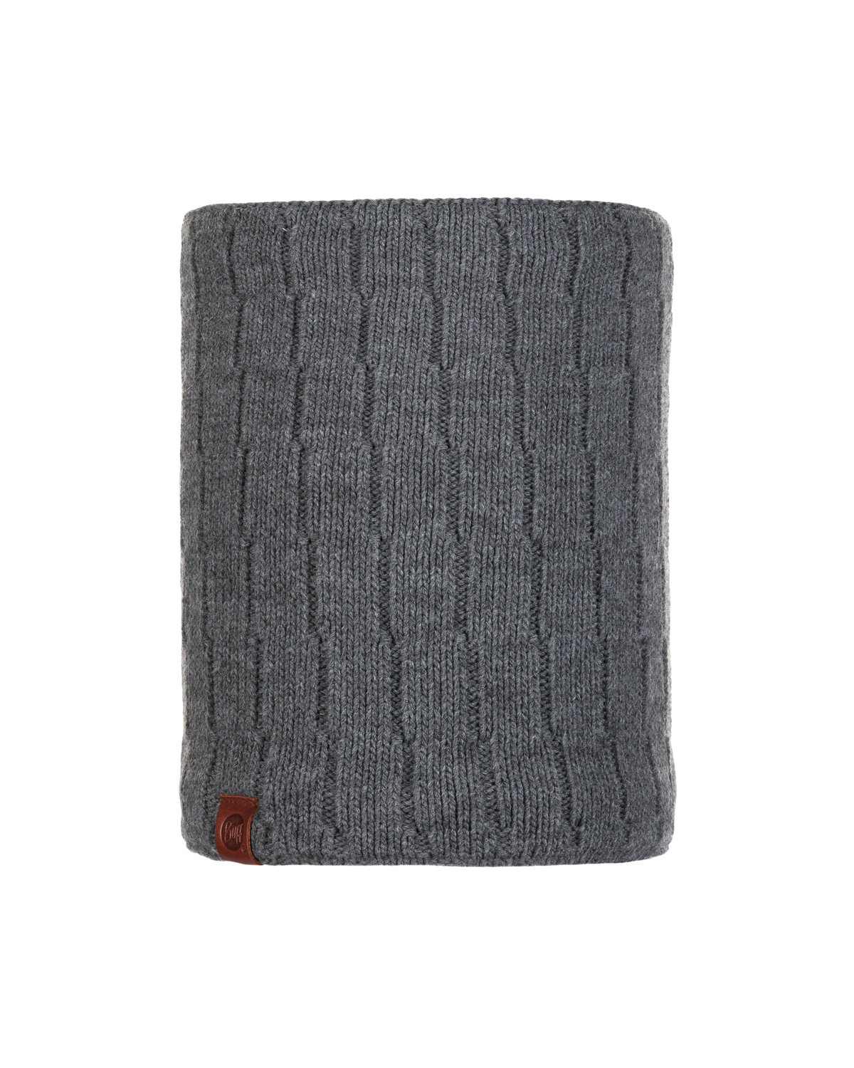 Knitted & Polar Neckwarmer Jeroen Grey