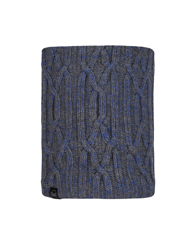 Knitted & Polar Neckwarmer Idun Grey