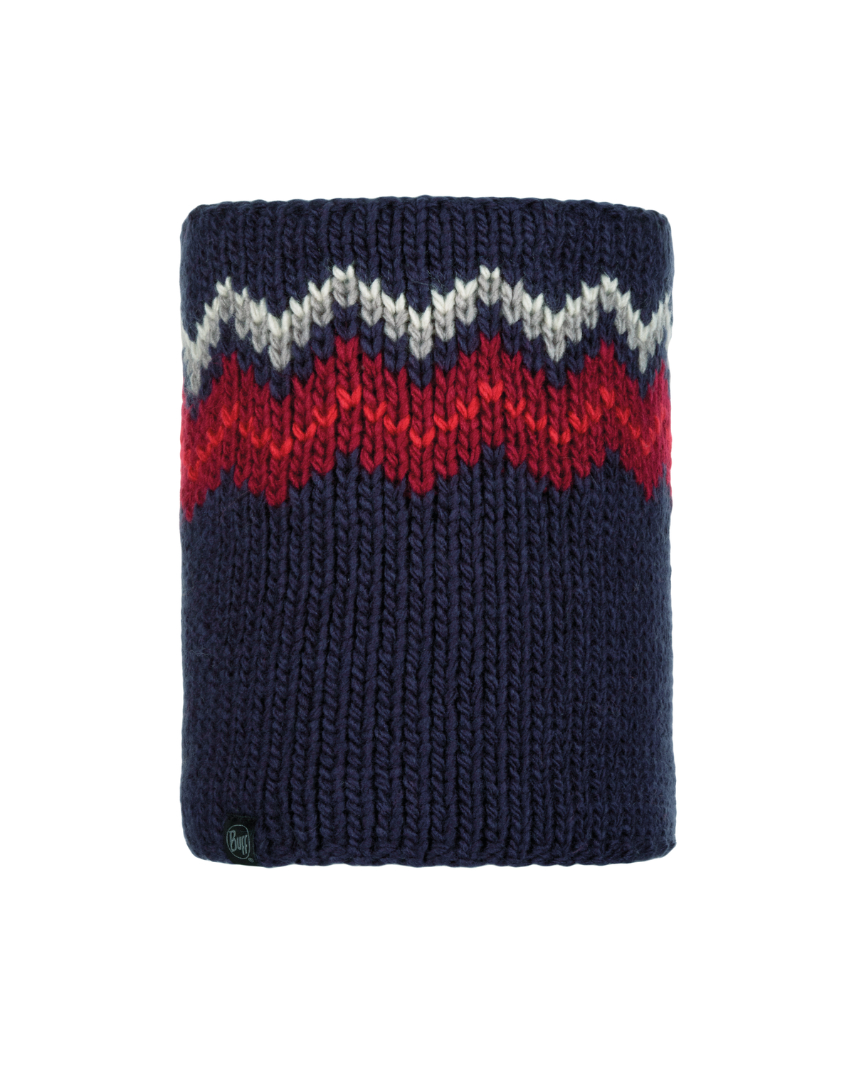 Knitted & Polar Neckwarmer Danke Night Blue
