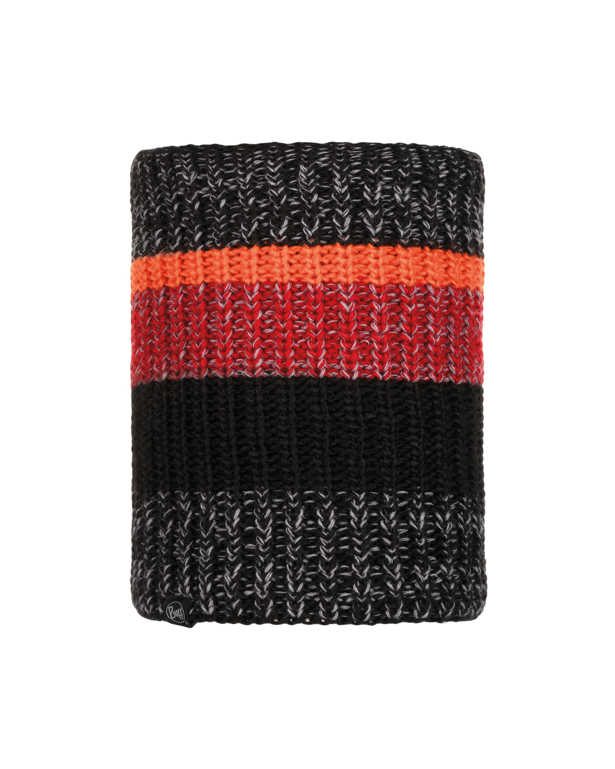 Knitted & Polar Neckwarmer Stig Black