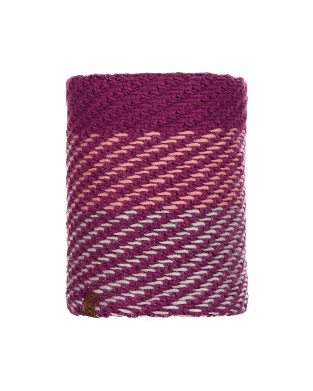Knitted & Polar Neckwarmer Nella Purple Raspberry
