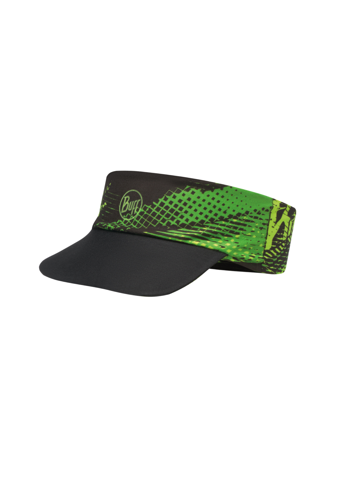 Pack Run Visor R-Flash Logo Yellow Fluor