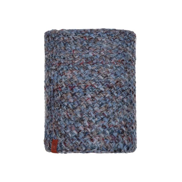 Knitted & Polar Neckwarmer Margo Blue