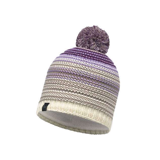 Knitted & Band Polar Hat Neper Violet
