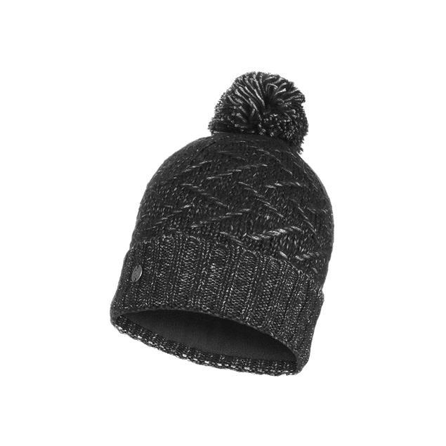 Knitted & Band Polar Hat Ebba Black