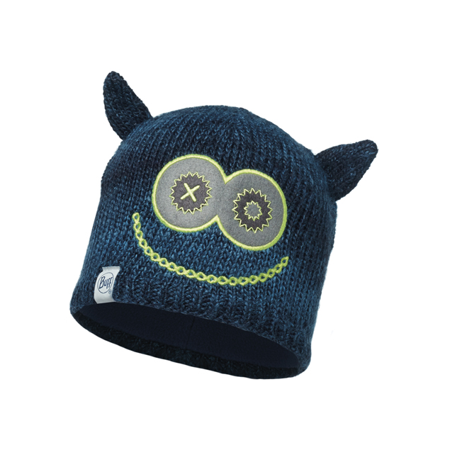 Child Knitted & Polar Hat Monster Merry Dark Navy