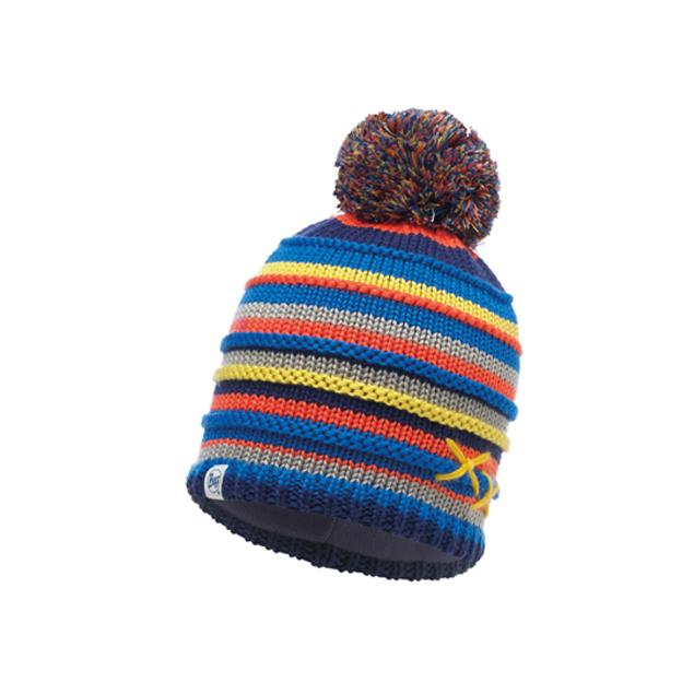 Knitted & Polar Hat Child Lasse Blue / Navy Primaloft