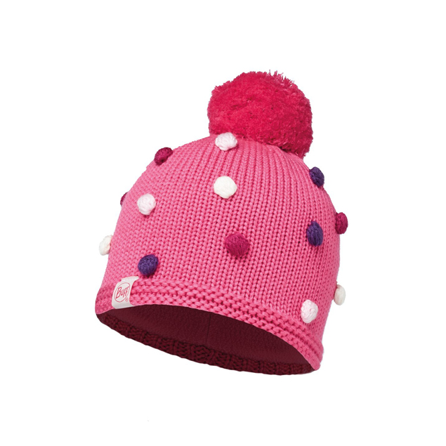 Child Knitted & Polar Hat Odell Ibis Rose