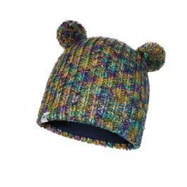 Gorro tricot y polar BUFF niño Lera Turquoise