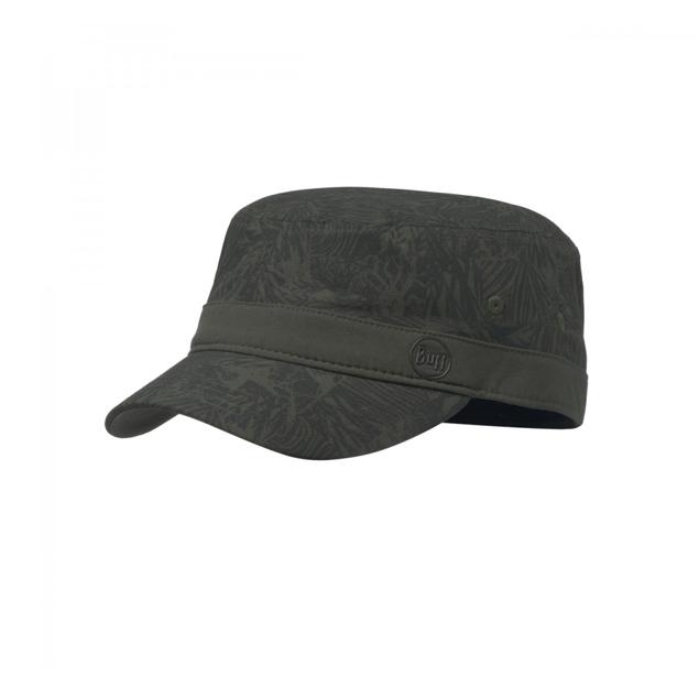Military Cap Checkboard Moss Green
