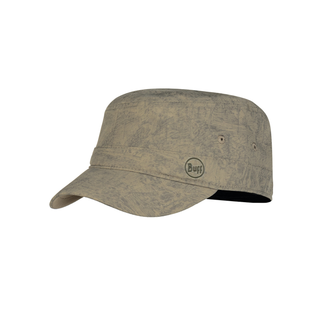 Military Cap Zinc Taupe Brown