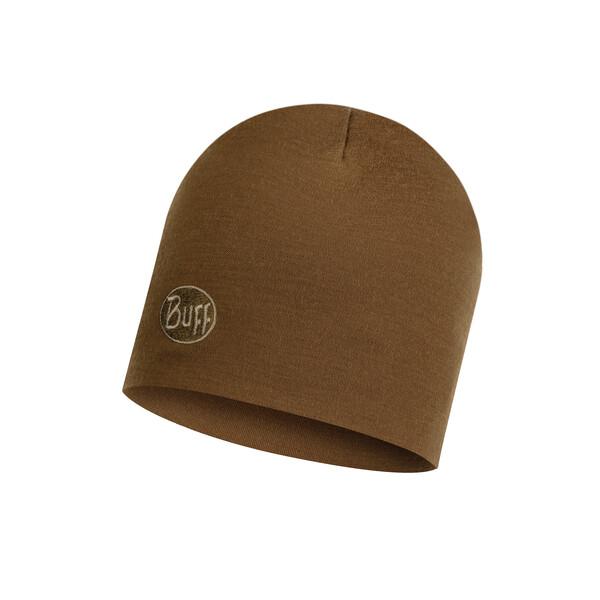 Heavyweight Merino Wool Hat Solid Tundra Khaki