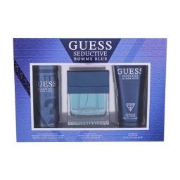 Guess Seductive Homme Blue EDT 100 ml + DEO spray 226 ml + gel doccia 200 ml