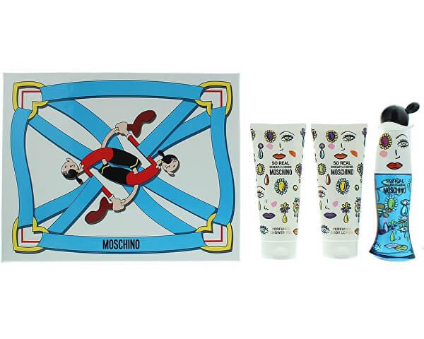 Moschino So Real Cheap & Chic Set Regalo 50ml EDT + 100ml Gel Doccia + 100ml Lozione Corpo