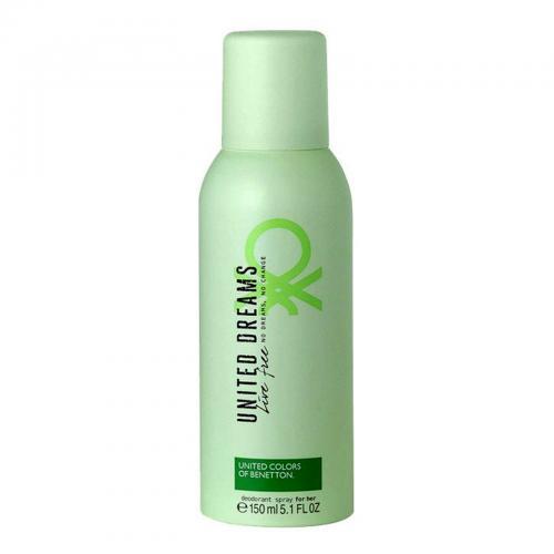 Benetton United Dreams Live Free Deodorante Spray 150ml