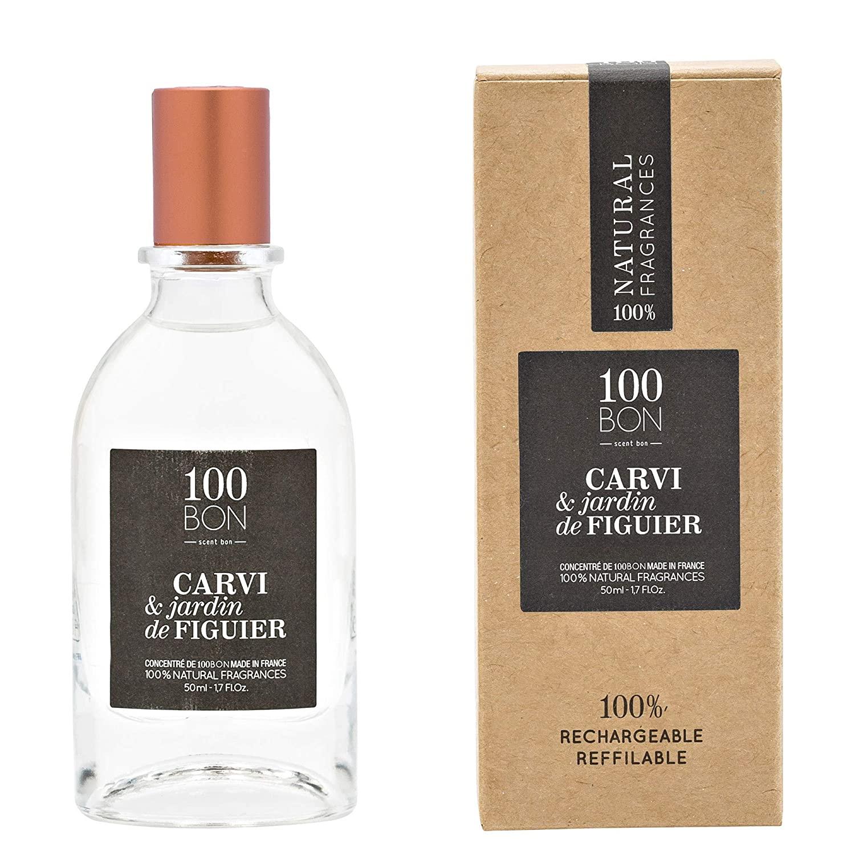 100 BON Carvi & Jardin De Figuier Refillable Eau de Parfum 50ml Spray