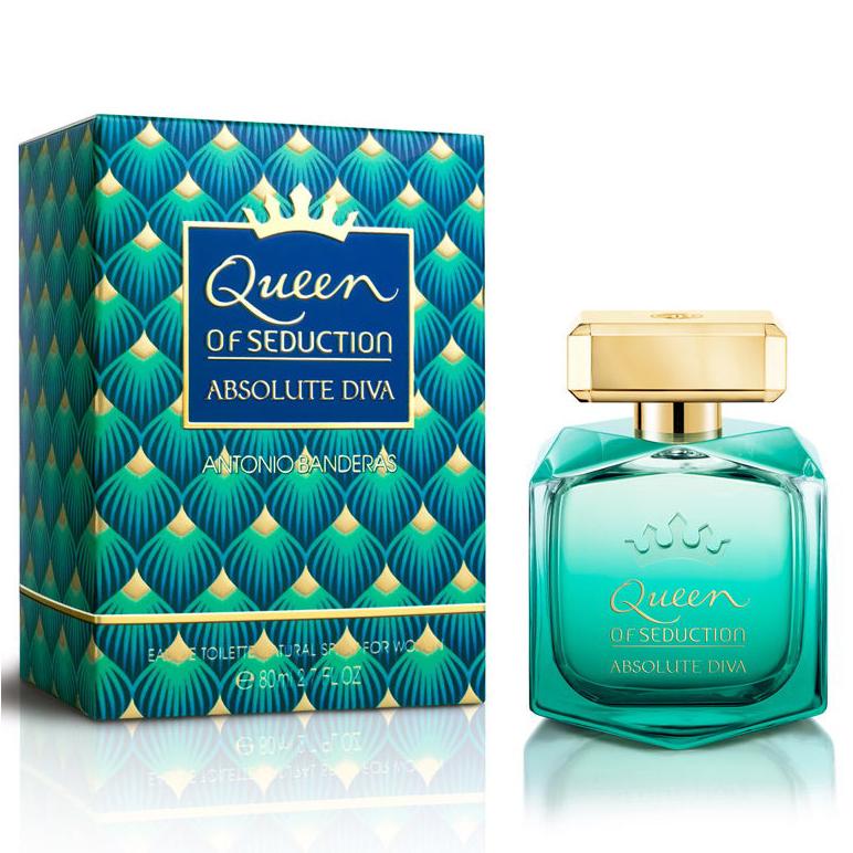 Antonio Banderas Queen Of Seduction Absolute Diva Eau de Toilette 80ml Spray