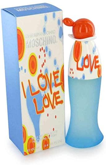 Moschino Cheap & Chic I Love Love Eau de Toilette 100ml Spray