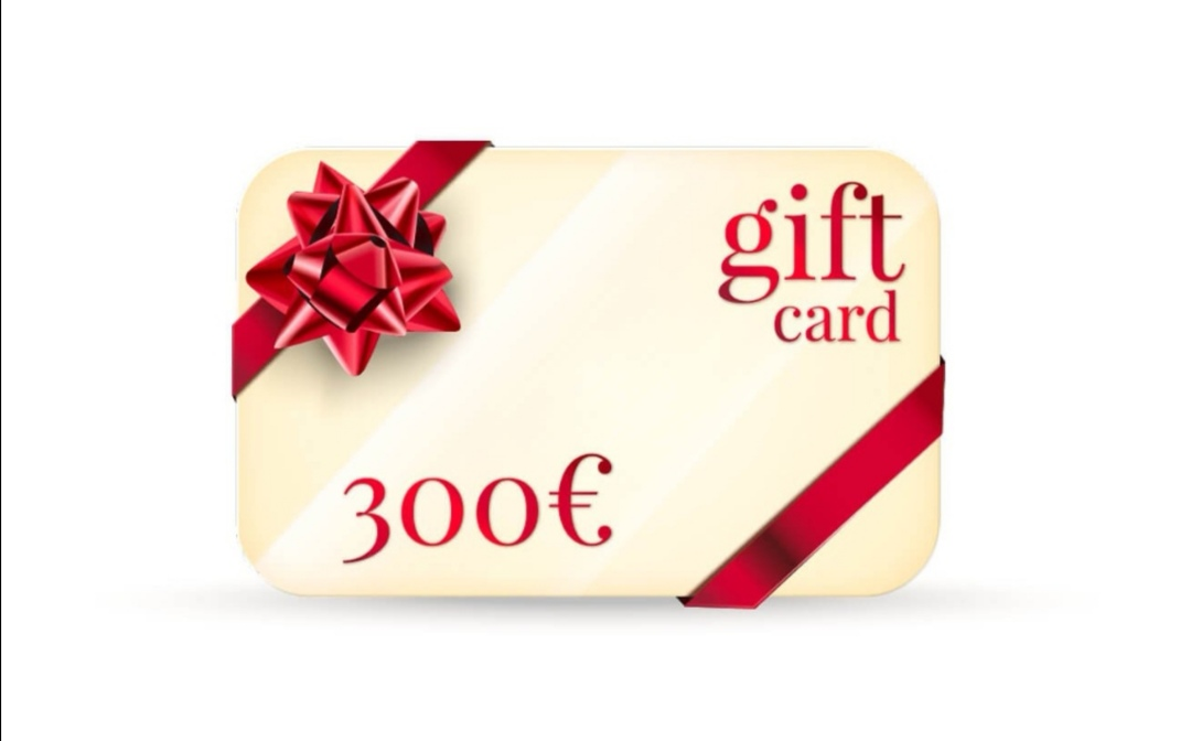 GIFT CARD DA 300
