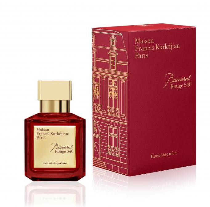MAISON FRANCIS KURKDJIAN PARIS BACCARAT ROUGE 540 RED EXDP 70ML
